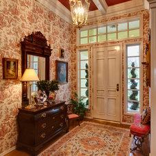 Traditional Entry by Professional Design Consultants