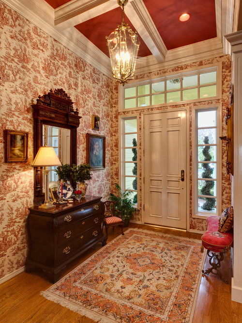 Entryway Wallpaper Houzz