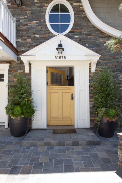 Transitional Entry by LCR Furniture & Design, Inc.