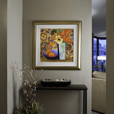 Modern Entry by Interiors by Mary Susan