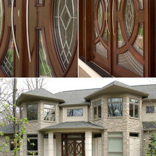 Contemporary Entry by Martin Bros. Contracting, Inc.