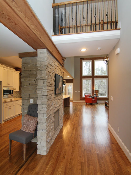 Entrance Foyer Circulation And Balcony In A House : Two story foyer houzz