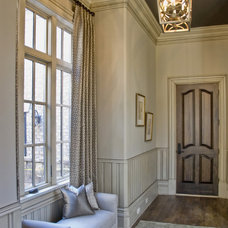 Transitional Entry by Valerie DeRoy Interiors, LLC