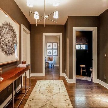 Transitional Modern Home-Foyer