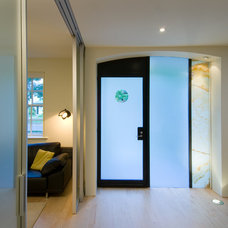 Contemporary Entry by Meditch Murphey Architects