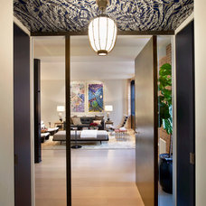 Contemporary Entry by Dirk Denison Architects