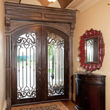 Mediterranean Entry by Richard Douglas Cabinets and Trim