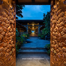Tropical Entry by Ethan Tweedie Photography