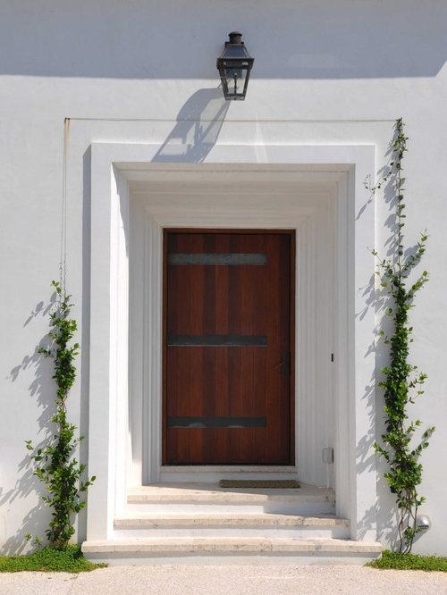 Recessed Front Door Home Design Ideas Pictures Remodel