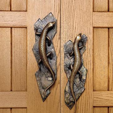 Tropical Nature Inspired Door Handles