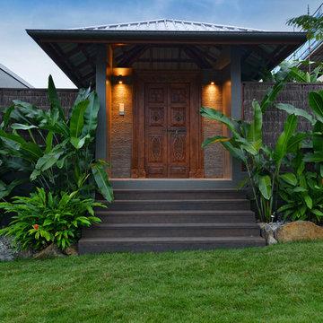 Tropical Pavillion Home