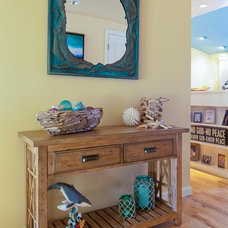 Tropical Entry by Karen Grace Interiors