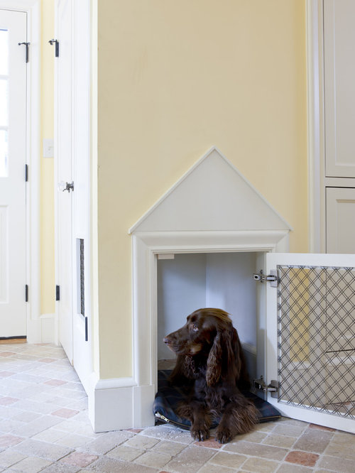Custom Indoor Dog Kennel | Houzz