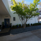 Front Entry Pergola Contemporary Entry Austin By