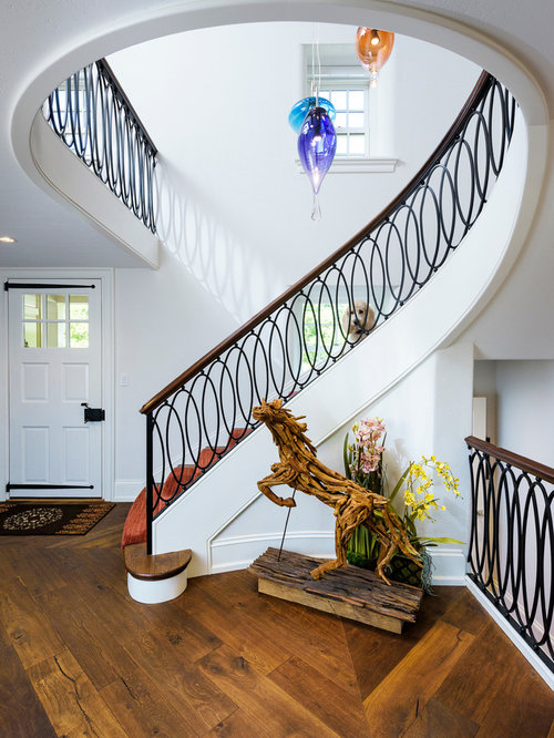 Foyer Architecture Quiz : Transitional entryway design ideas remodels photos
