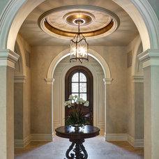 Mediterranean Entry by Great  Falls Distinctive Interiors Inc.