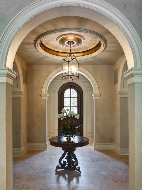 Mediterranean House Foyer : Foyer ceiling houzz