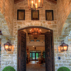 Mediterranean Entry by Eklektik Interiors