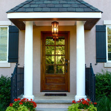 Traditional Entry by House of Cline Design