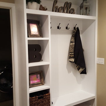 TV Built In wall unit