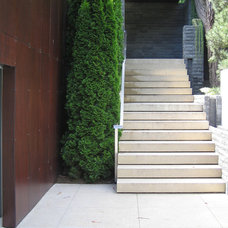 Modern Entry by Jensen Architects