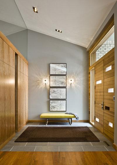 Modern Entry by Peterssen/Keller Architecture