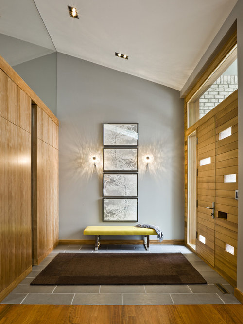Modern Foyer Houzz : Tile entry home design ideas pictures remodel and decor