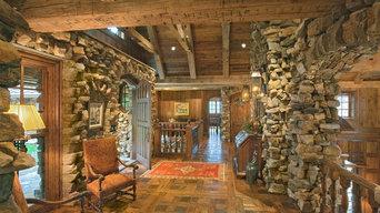 Unique antique wood floor