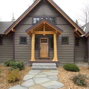 Unique Hybrid of Conventional, Timber and Log Framed Home