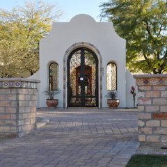 mediterranean entry by Straight Line Landscape
