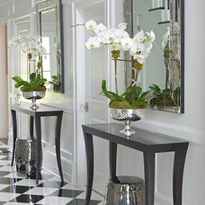 Transitional Entry by Susan Glick Interiors