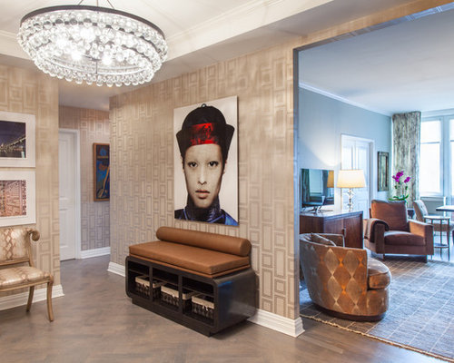 Foyer Wallpaper Review : Foyer wallpaper houzz