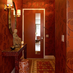 contemporary entry by Alan Kosa Interiors