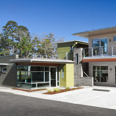 Modern Entry by Architects: Lewis + Whitlock, PA