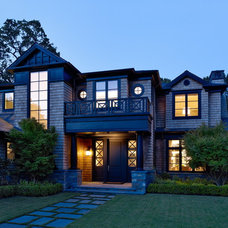 Traditional Entry by Polsky Perlstein Architects