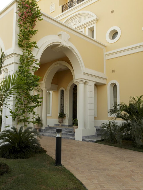 Mediterranean Exterior House Colors Home Design Photos Decor Ideas
