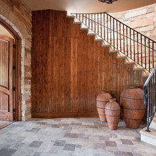 Rustic Entry by Ulf & Associates