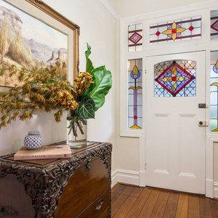 Photo of a transitional entryway in Perth.