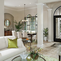 eclectic entry by Arthur Rutenberg Homes