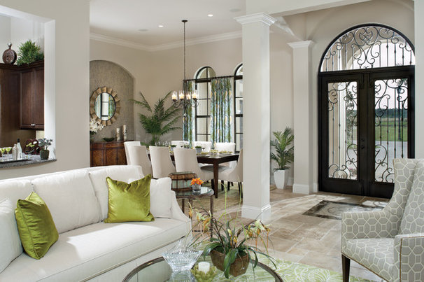 Mediterranean Entry by Arthur Rutenberg Homes