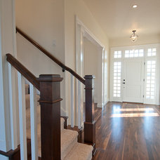 Traditional Entry by dC Fine Homes & Interiors