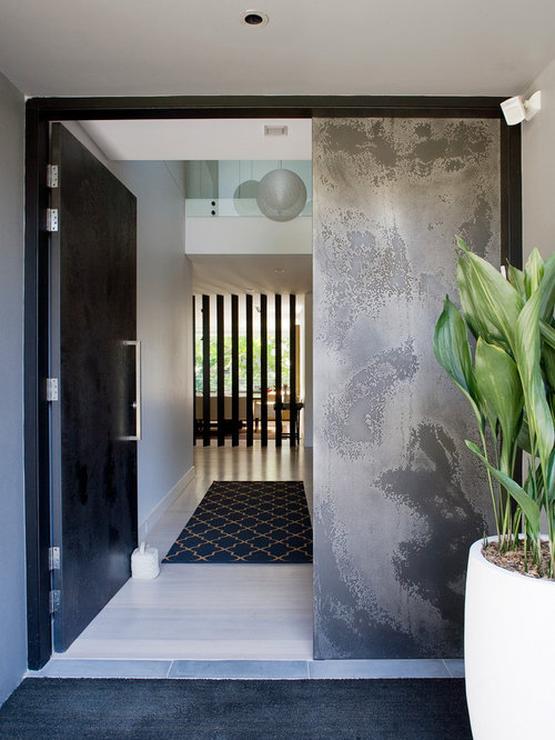 Asian Contemporary Entrance Ideas Pictures Remodel And Decor