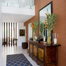 Contemporary Entry by Denai Kulcsar Interiors