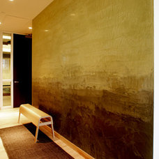 Contemporary Entry by Trompe Decorative Finishes