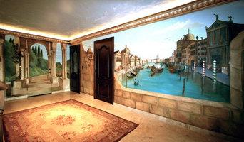 Venice Old World Mural