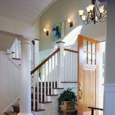 Craftsman Entry by TruexCullins Architecture + Interior Design