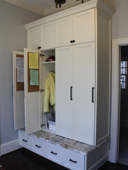 Mudroom locker ideas home design ideas pictures remodel for Mudroom locker design plans