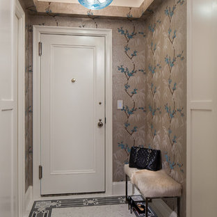 75 Most Popular Small Marble Floor Entryway Design Ideas For 2018