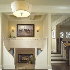 Traditional Entry by Dwell Design Studio