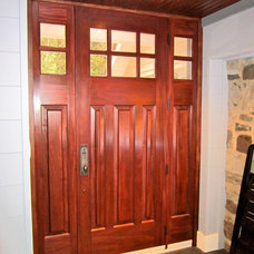 Craftsman Entry by Integrity Home and Cottage